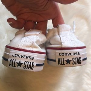 ebf3e64adbc6 Converse Shoes - NWOT Women s White Shorline Converse!
